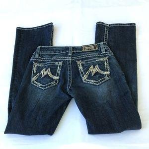 Miss Me Denim Brand Easy Boot Thick Stitching